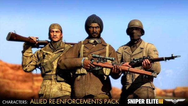 PC - Sniper Elite 3 - Allied Reinforcements Outfits Pack Download (ESD)