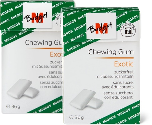 M-Budget Chewing Gum Exotic