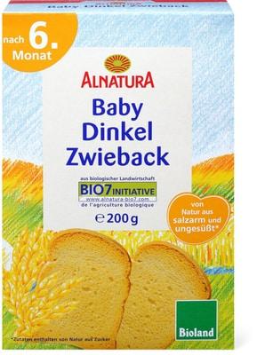 Alnatura - Fette biscottate di spelta per bebè