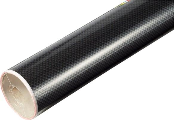 D-C-Fix Carbonfolien selbstklebend Schwarz-Silber