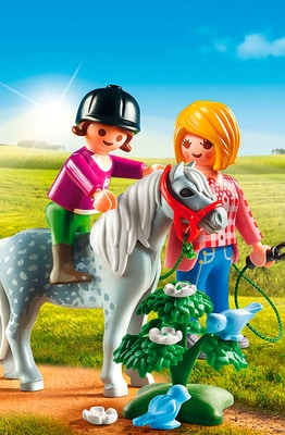 PLAYMOBIL Country Spaziergang mit Pony 6950