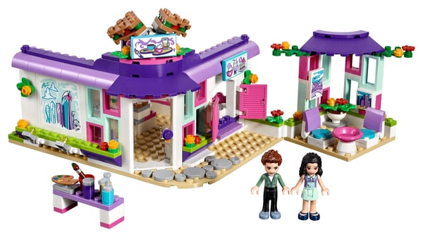 Lego Friends 41336 Cafe Des Arts Demma
