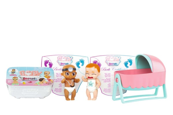 Baby Secrets Bassinet Pack Giocare a bambole