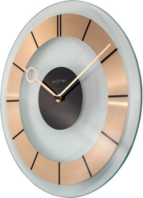NexTime Horloge Murale Rétro Or Diamètre 3 Horologe murale