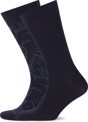 John Adams Herren Socken Leaves 2er Pack