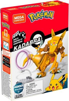 Pokémon Mega Construx  GKY87 KADABRA Spielfigur