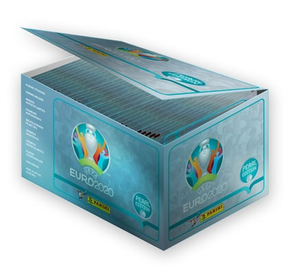 UEFA EURO 2020™ Pearl Edition official sticker collection 100-Box