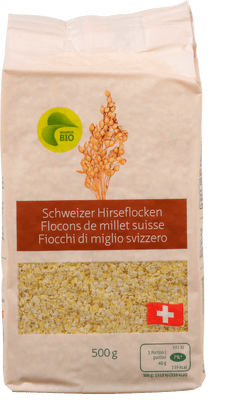 Bio Hirseflocken Schweiz