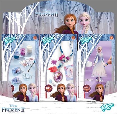 Disney Frozen 2 Mini Set 12 Pack Ass Schmuck
