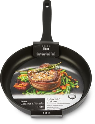 Cucina & Tavola TITAN Padella 28cm flat