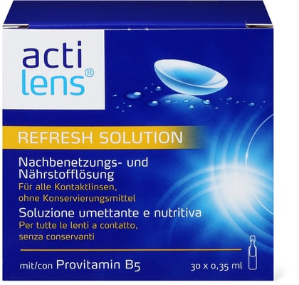 Actilens Refresh Solution Ampoules