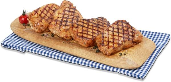 Steak de porc marinée