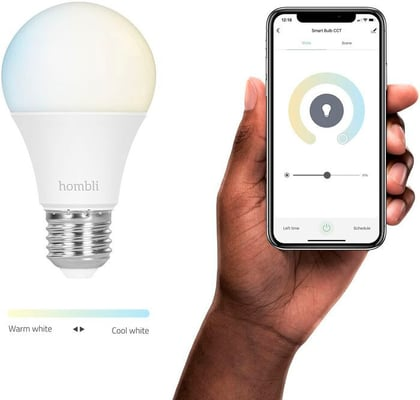 Hombli Smart Bulb E27 (9W) CCT Glühbirne