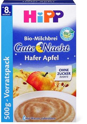 HiPP Gute-Nacht-Brei Hafer Apfel