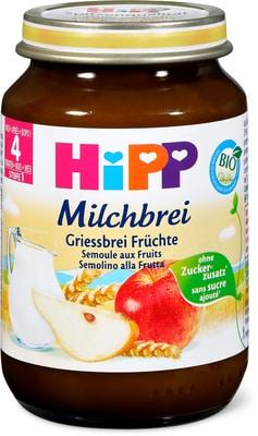 Bio HiPP Semolino alla frutta