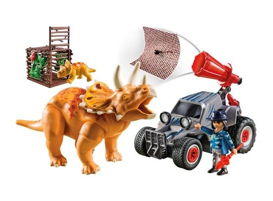 Playmobil Offraoder mit Dino-Fangnetz