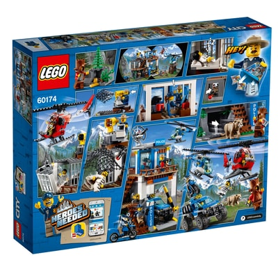 Lego City 60174 Quartier Polizia