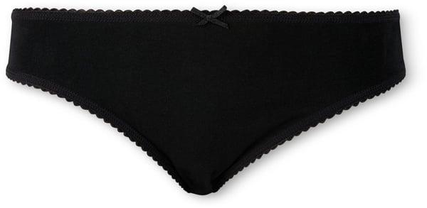 Damen Slip Mini schwarz