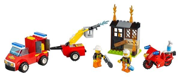LEGO Juniors Löschtrupp-Koffer 10740