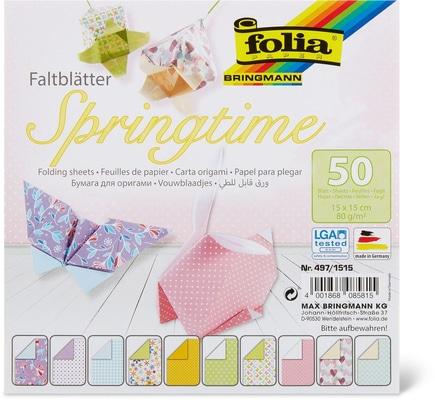 Folia Bringmann Papier couleur à plier
