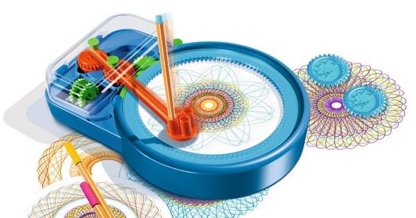 Spiral-Designer Maschine