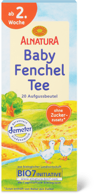 Alnatura - Tisana di finocchio per bebè (bustine)