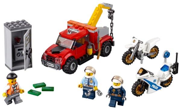 LEGO City Abschleppwagen auf Abwegen 60137