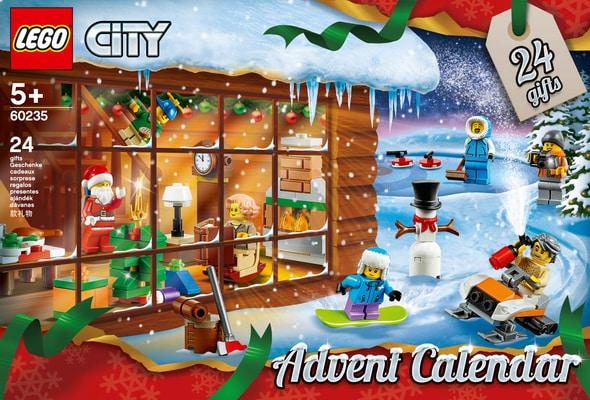 Calendrier Avent Lego City.Migros Calendrier De L Avent Lego City
