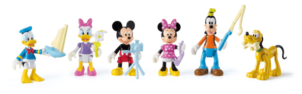 Mickey and the roads Figuren