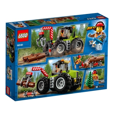 Lego City 60181 Trattore Forestale