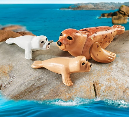 Playmobil Family Fun Foca con cuccioli 9069