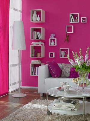 Schöner Wohnen Trendfarbe Matt Orchidee 1 l