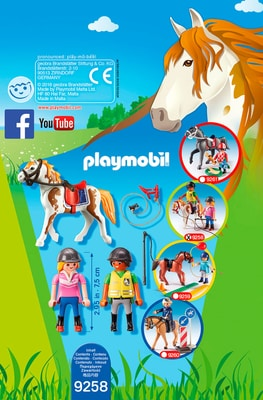 Playmobil Country Monitrice d'équitation  9258