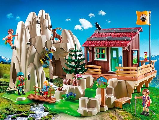 Playmobil Action Rocher d'escalade avec espace d'accueil 9126