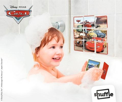 Disney Cars Shuffle Aqua