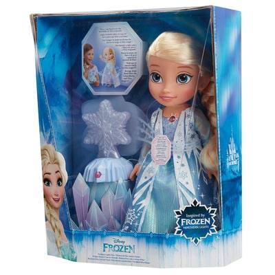 Elsa avec flocon de neige magique Disney Frozen