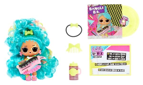 L.O.L. Surprise Remix Hairflip Ass. Puppe