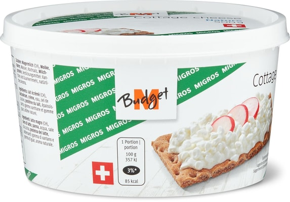 M-Budget Cottage Cheese Nature