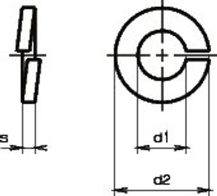 Do it + Garden Rondelle ressort acier fin