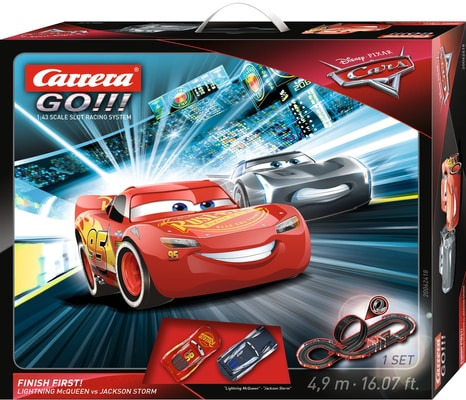 Carrera Go Disney Cars Finish First