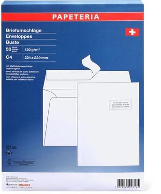 Papeteria c4 enveloppes avec fen tre droite migipedia for Enveloppe c4 avec fenetre