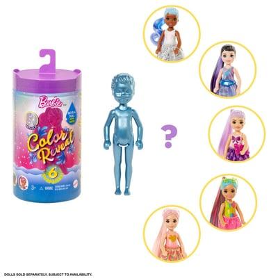 Barbie GTT23/GTT24 Color Reveal Chelsea Puppe