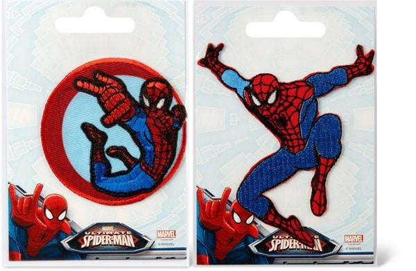 Aufbügelmotiv Spiderman