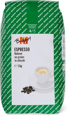 M-Budget Espresso Bohnen 1kg