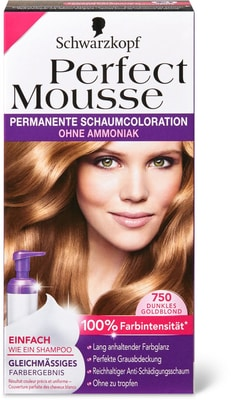 Perfect Mousse 750 blond doré fon.