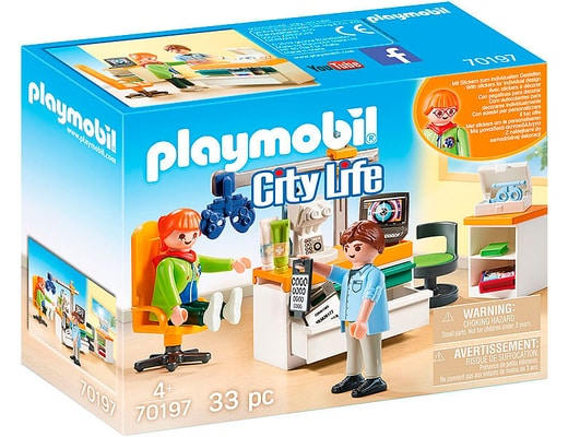 Playmobil 70197 Ophthalmologe