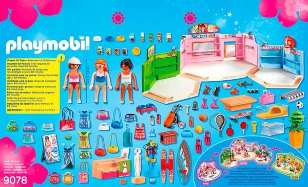 Playmobil City Life Galleria con 3 negozi 9078