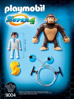 Playmobil Super 4 Singe géant Gonk 9004
