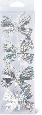 Cucina & Tavola Deko-Schmetterling auf Clip