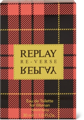 Replay Signature Reverse for Woman EdT Natural Spray